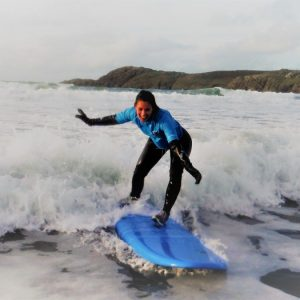 Surfing Holidays in St Davids Pembrokeshire Wales with The Real Adventure Company